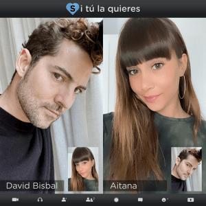 David Bisbal and Aitana - Si Tú La Quieres