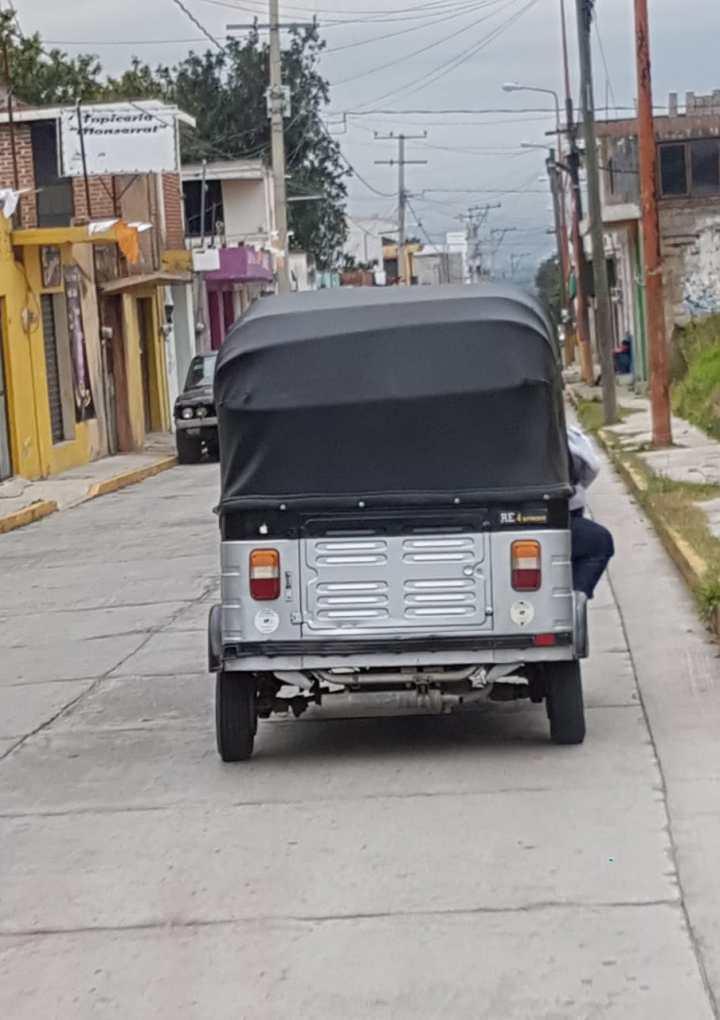 Necesaria operación de mototaxis en Papalotla, justifica alcalde