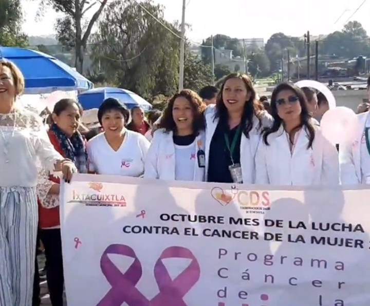 Se suma Ixtacuixtla a la cultura de la prevención del cáncer en la mujer.