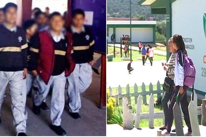 Frustra policía municipal de Tocatlán intento de robo en Técnica 6 y CECYTE 29.
