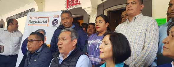 Defiende Cutberto Chaves proceso de elección de la sección 31 del SNTE.