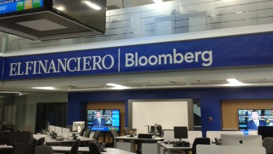 Photo of Mi primera semana en El Financiero Bloomberg