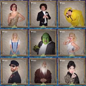 Elenco del Joven Frankenstein.
