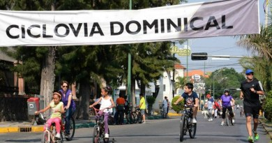 GOBIERNO MUNICIPAL ANALIZA CONVENIENCIA DE REACTIVAR CICLOVÍA DOMINICAL