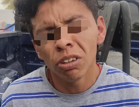 POLICÍAS DE SOLEDAD DETIENEN A PRESUNTO ASALTANTE EN LA COLONIA LA VIRGEN