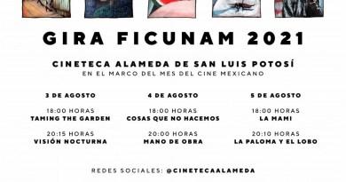 FESTIVAL DE CINE DE LA UNIVERSIDAD NACIONAL AUTÓNOMA DE MÉXICO LLEGA A LA CINETECA ALAMEDA