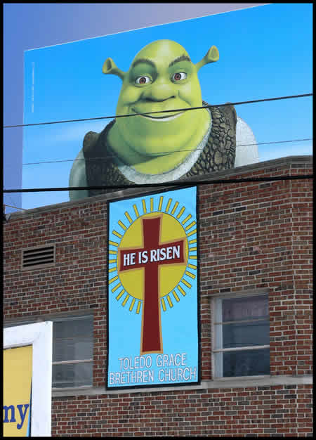 Shrek is Risen