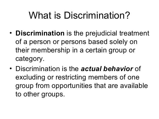 how to prevent discrimination