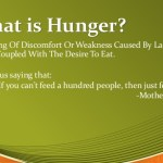 What is hunger