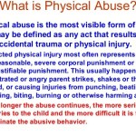 What is Physical Abuse