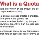 What is Quotas