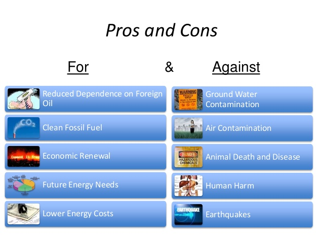 fracking pros and cons 2017