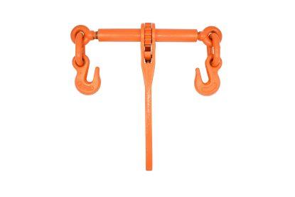 "3/8"" - 1/2"" Ratchet Binder with Grab Hooks - Orange 9200lb WLL"