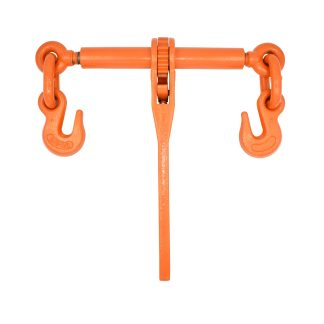 "3/8"" - 1/2"" Ratchet Binder with Grab Hooks - Orange 9200lb WLL"