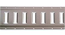Horizontal, Gray Powder Coat, 10' length 43002