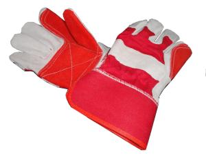 Red/White Rigger Gloves