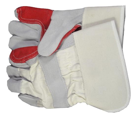 red white rigger gloves esc