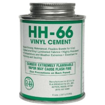hh66 vinyl cement tarp repair kit