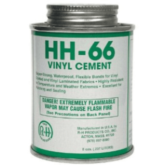 hh66 vinyl cement tarp repair kit