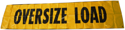 oversize load sign web