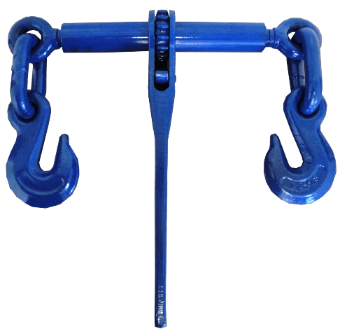 "Extreme Heavy Duty Ratcheting Style Load Binder w/ Grab Hooks 1/2"" - 5/8"""
