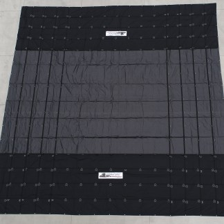 32' x 32' MACHINERY TARP - 18oz VINYL IN MIDDLE | 6oz CORDURA PARACHUTE MATERIAL ON SIDES