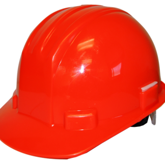ESC Red Safety Helmet front view web
