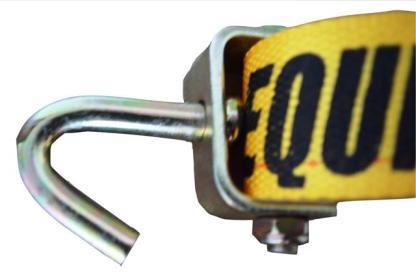 ESC Premium Car Hauler Strap with swivel hook - hook view