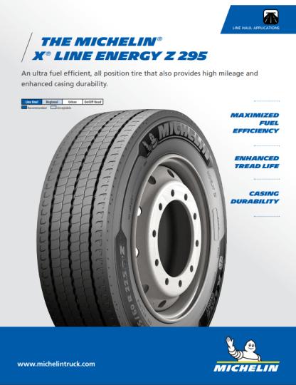 MICHELIN® X® LINE ENERGY Z 295 TIRE