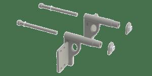 EX-GUARD MOUNTING BRACKETS XG-16ILS - International Lonestar ('09-Current)