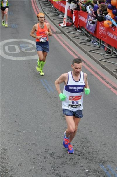 Simo, Maratona di Londra