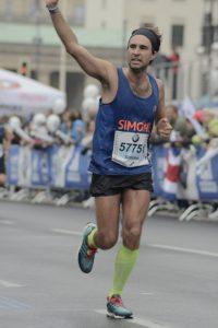 Simone Luciani Maratona di Berlino