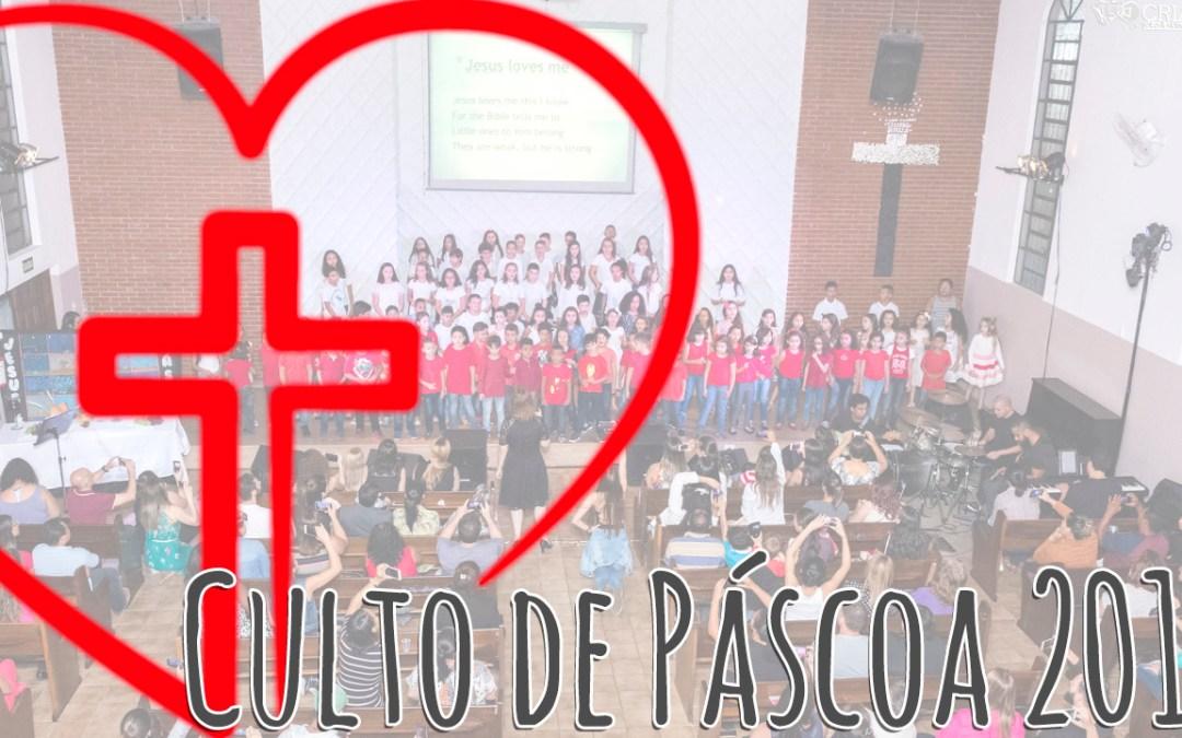 Culto de Páscoa 2018