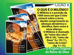 milênio - reino milenar de Cristo_escola_biblica_onlie