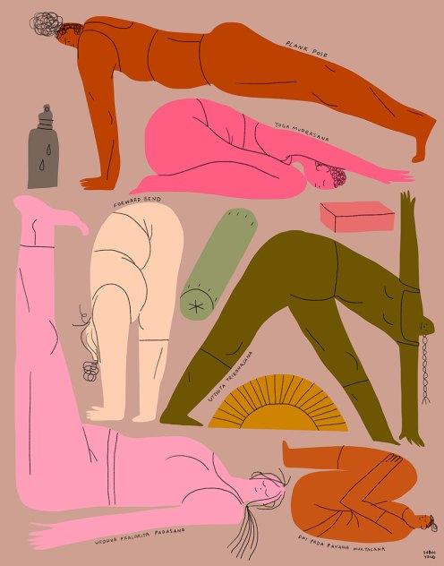 Exercícios de alongamento da fáscia