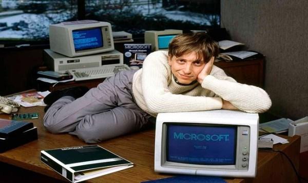 Bill Gates e os homens mais ricos do mundo