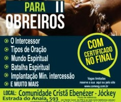Reciclagem para Obreiros II – Comunidade Cristã Ebenézer – Jockey