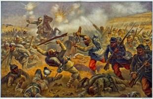 Mobilisation - Eugène Chaperon - la bataille de Morhange le 20 août 1914