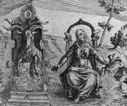 Tableau de l'Inconstance des Mauvais Anges et Démons - sorcellerie