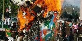 Mardi Gras - Sent Pançard finit brûlé