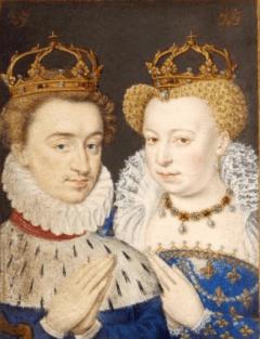 Henri de Navarre et Margot - guerres de religion