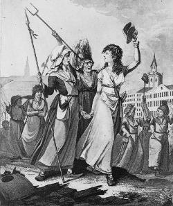 Satire des femmes sous la Révolution