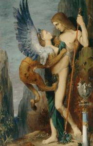 Œdipe et la sphinge, Gustave Moreau, Metropolitan Museum of Art.