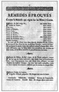 Remèdes éprouvés à Metz (1743)