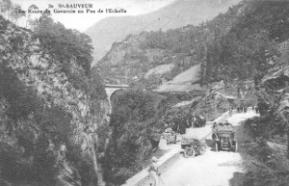 La route de Gavarnie au Pas de l'Echelle