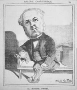 Charivari - Caricature de Casimir Perrier