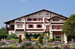 La villa Arnaga à Cambo les Bains (64)