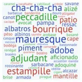 Quelques emprunts du français à l'espagnol