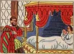 Jeanne accouche d'Henri à Pau