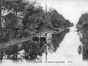 Le canal de Cazeaux